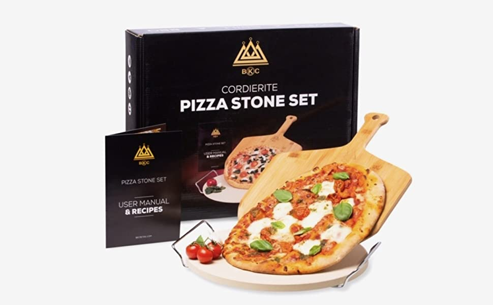 Round Pizza Stone Set