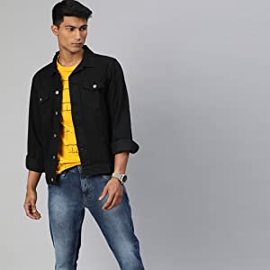 Denim Jacket for men;Men buttoned Jacket;Men Jacket for winter;Men's jacket;Men Jackets for winter