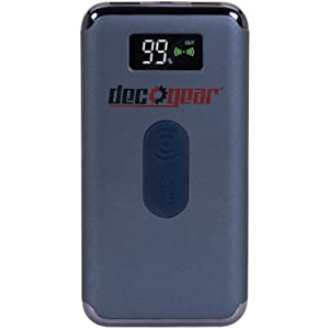 Power Bank 8000 mAh Digital Display with Wireless Device Charging