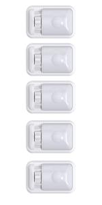 12V LED RV Ceiling Light Motorhome Trailer interior LED Lights Frosted Single dome LED White light