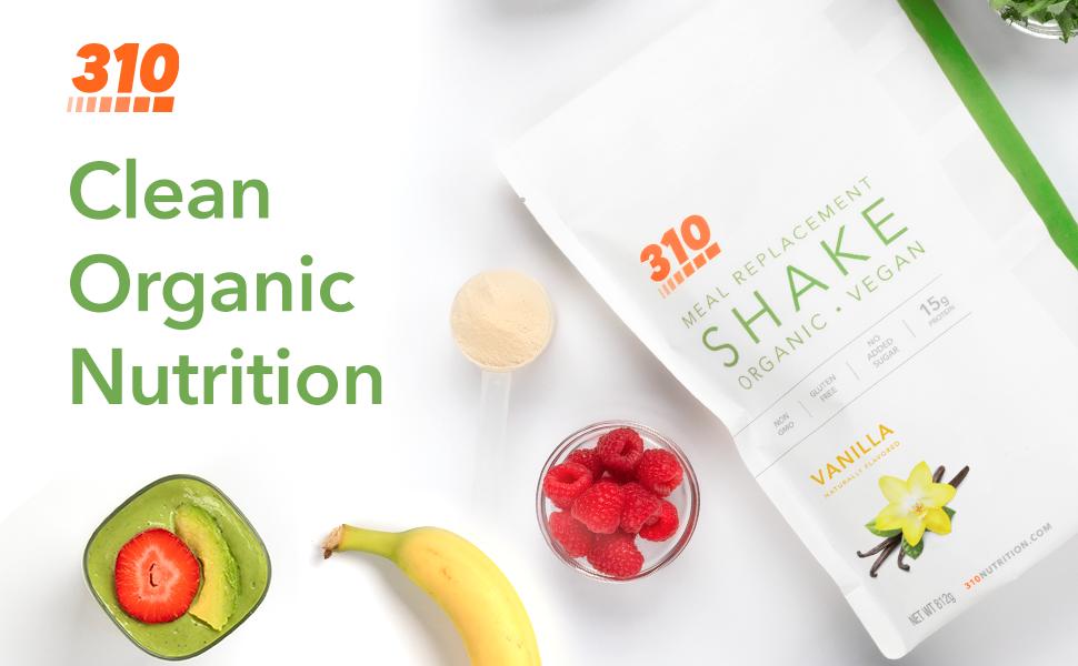 Organic Vanilla Shake