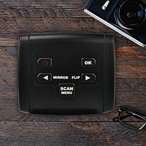 22MP Escáner de negativos y diapositivas , Convertidor digital con ...