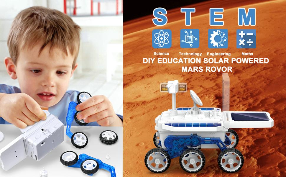 URmarvelous STEM Educational Toys Mars Rover