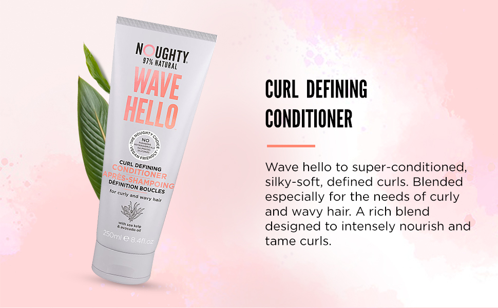Conditioner for curly hairs