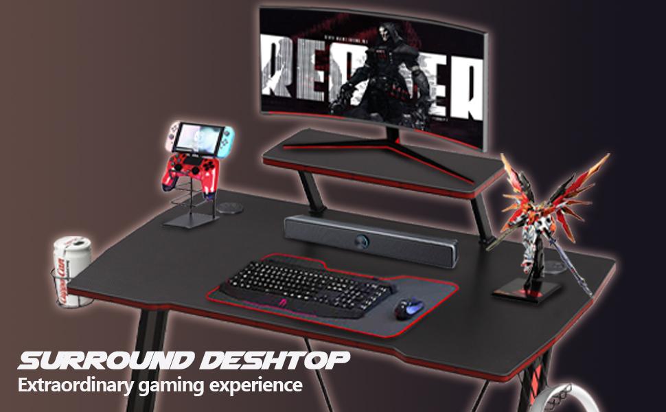 multi-function gaming desk