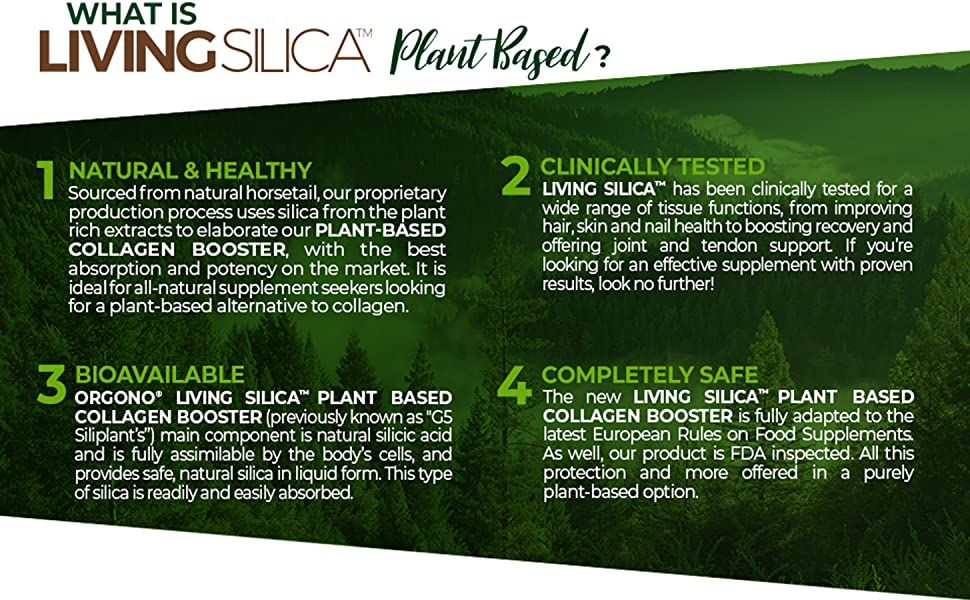 What is Living Silica Plant Based?