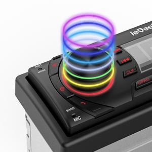 Светлина на бутоните 7 цвята