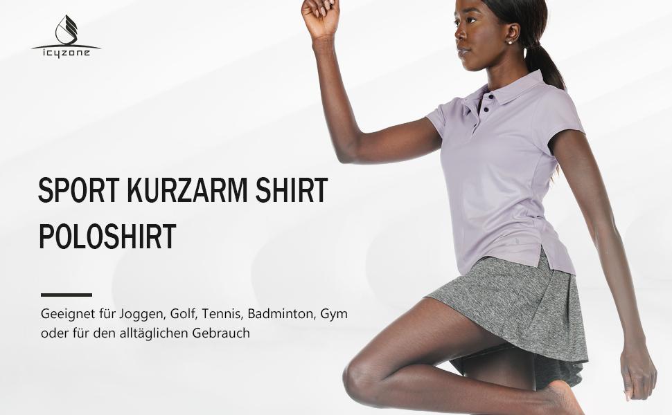 Women's sports T-shirt.