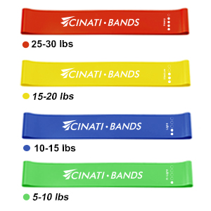 5 levels workout band set for leg and butt
