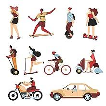 Bike motor car