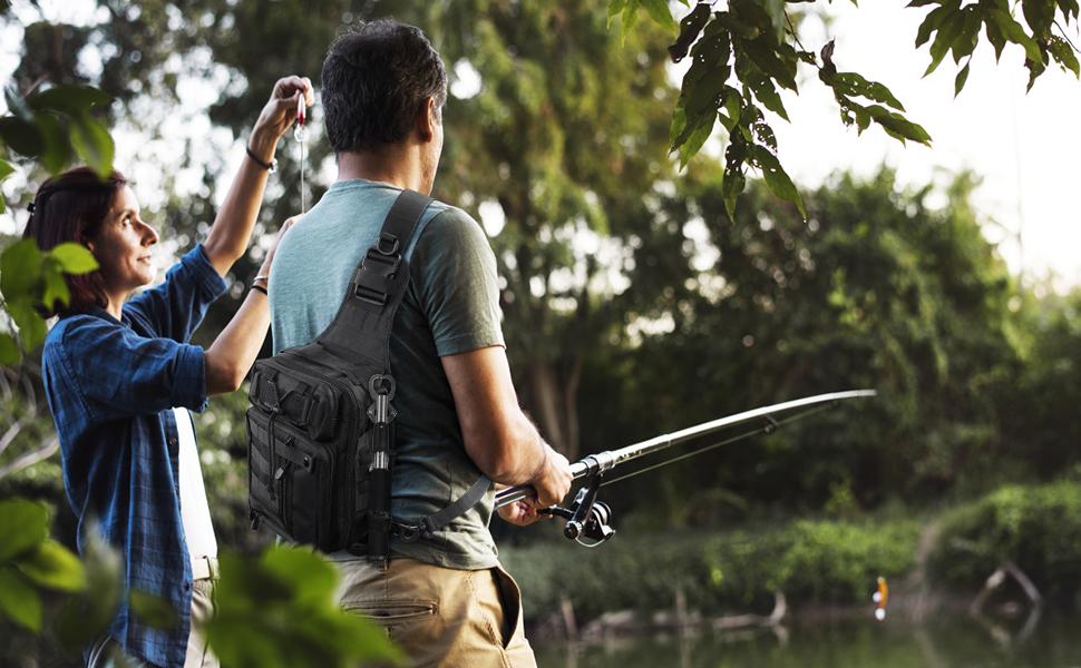 outdoor sling backpack