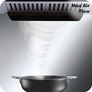 Elica 90 cm 1200 m3/hr Auto Clean Chimney with Installation Kit Baffle Filters, Touch Control