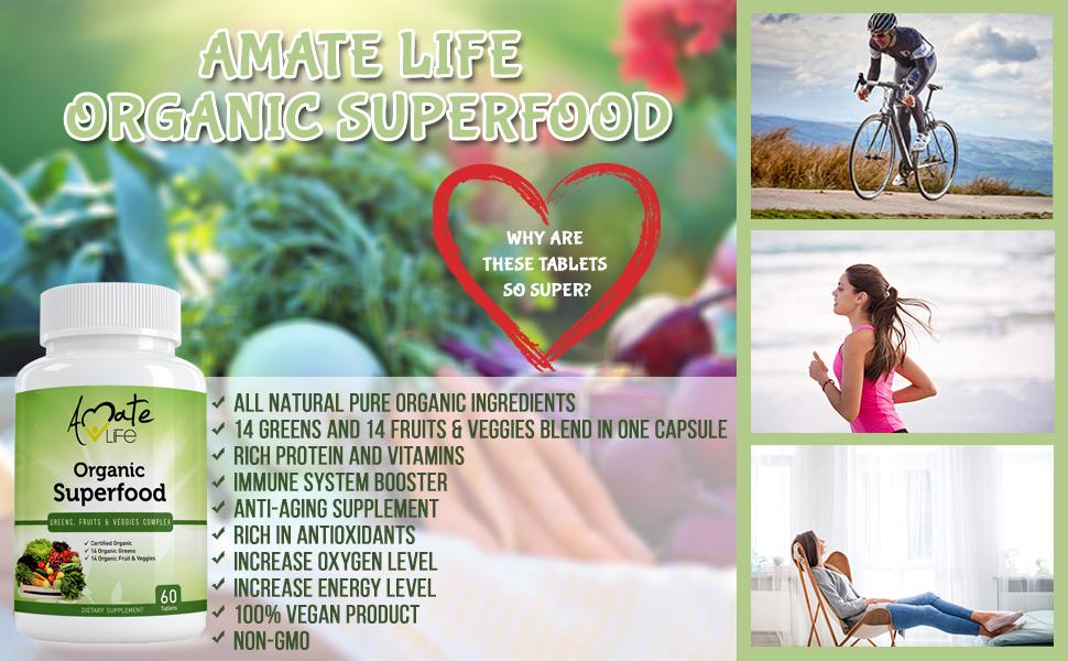 Amate Life Organic Superfood