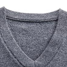 gilet maglione senza maniche da uomo