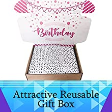 : Hey It's Your Day Spa Bath Bomb Birthday Gift Basket Box For Her spa basket