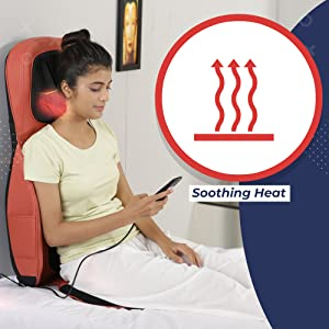soothing heat massager for back
