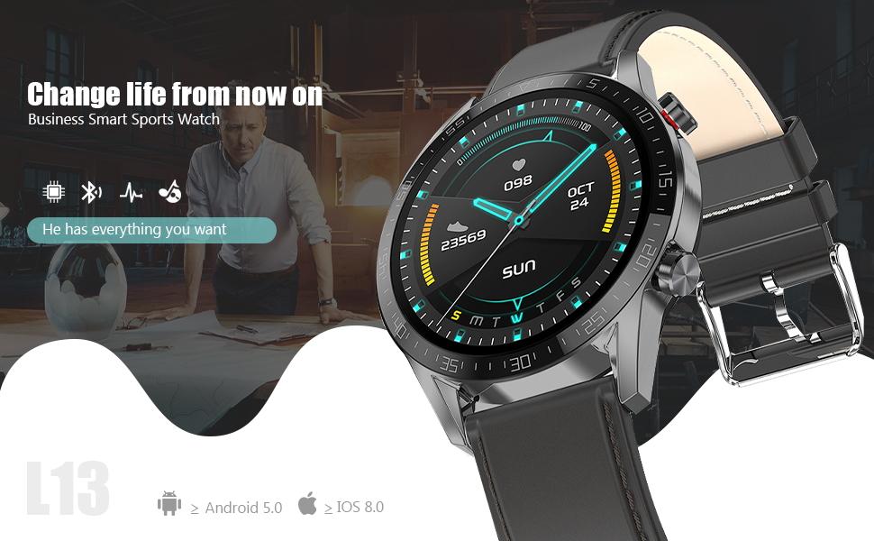 L13 smart watch for men