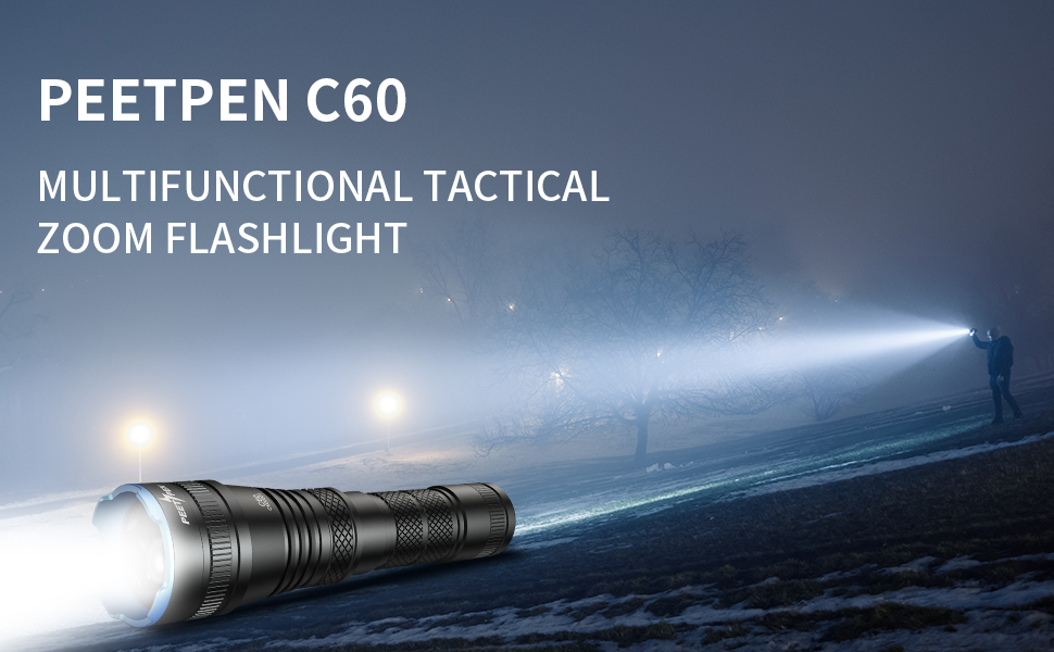 flashlight, tactical flashlight,led flashlight,zoomable flashlight, Mountaineering flashlight