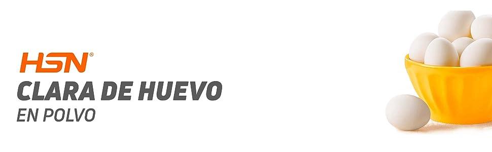 HSN RAW - Clara de Huevo en Polvo 100% Natural sin Grasas, sin Colesterol y sin Sabor