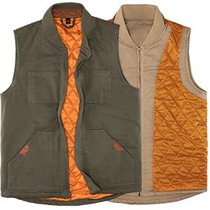 Men's Sanded Duck Insulated Vest