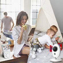 Drahtlos Babyphone Babyfone Video Gegensprechfunkt Babyüberwachung XC502EU