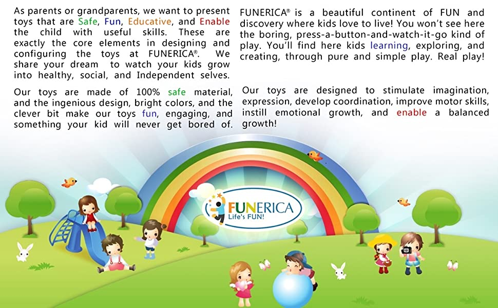 Funerica Play Kitchen Cooking Set
