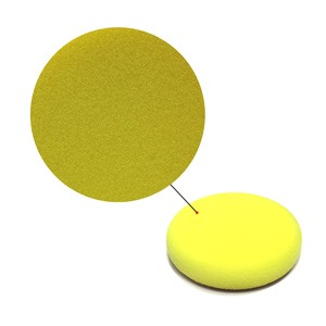 3 Inch// 85mm Maxshine Yellow Flat Foam Polishing Pad