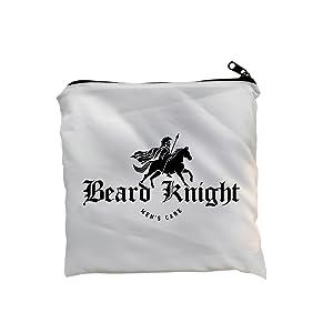 Beard Apron Bag White
