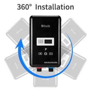 instant water heater 360 installation