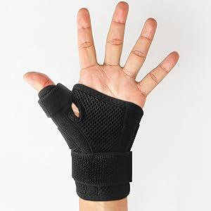copper compression thumb brace