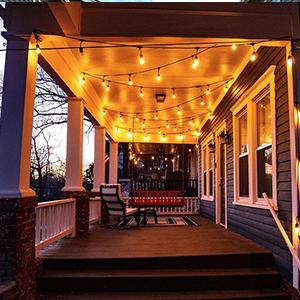 OxyLED Guirnaldas Luminosas de Exterior Bombilla regulable para exteriores y temporizador 15M LED String Lights con bombilla LED 15X2W E27 2500K Luz vintage para patio al aire libre Fiesta de jardín: Amazon.es: