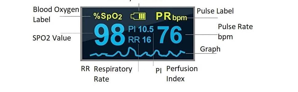 pulse oximeter pulse rate monitor
