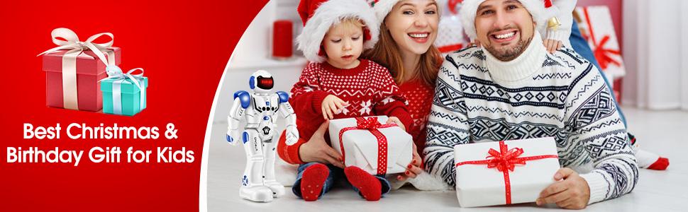 Christmas birthday robot gift for kids