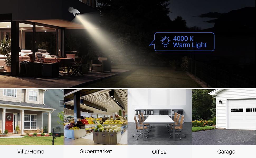 4000K Warm Supplement Light