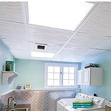 Laundry Room Genesis Ceiling Tiles