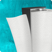 Tear off blade for paper towels