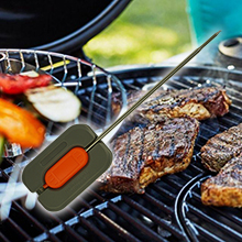 rack probe abs wrap design stainless steel food graded durable mash cable sensor teflon handle