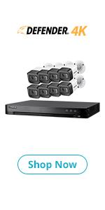 Defender 4K 8 Channel Security System
