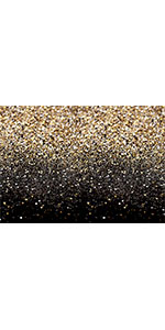 Black and Gold Glitter Sequin Photo Background Photo Booth Props Backdrop