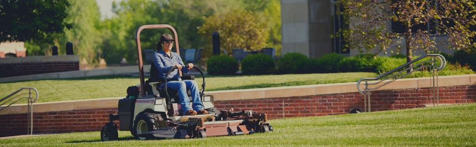 Woman Lawn Mower