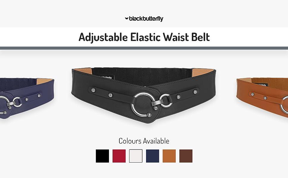 Adjustable Elastic Waist Belt