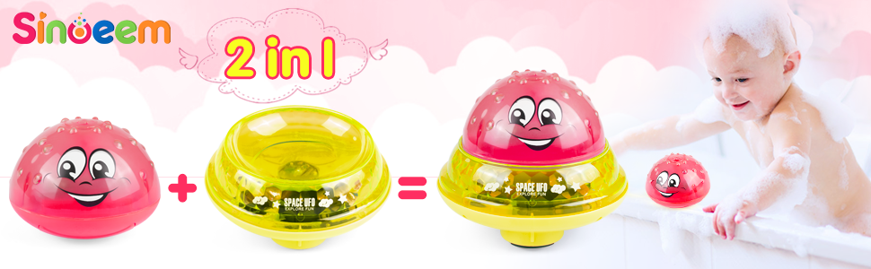 2 in 1 Induction Water Spray Toy