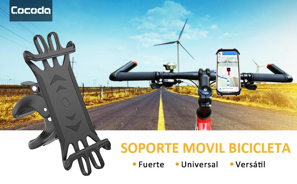 Cocoda Soporte Móvil Bicicleta, Soporte Movil Moto, Rotación 360 ...