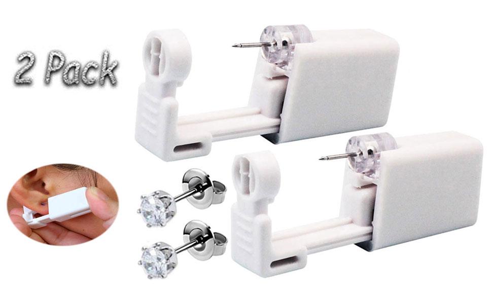 ear piercing kit with earrings