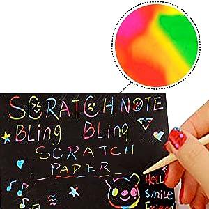 Scratch Art Book