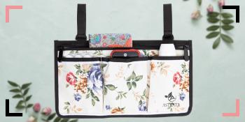 side bag floral
