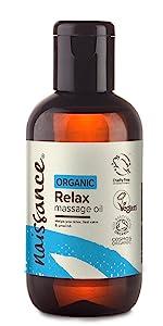 Organic Relax massage oil