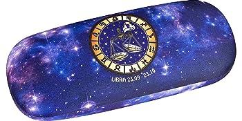 von Lilienfeld Estuche Gafas Funda Mujer Hombre Motivo Signo del Zodiaco Hor/óscopo Leo