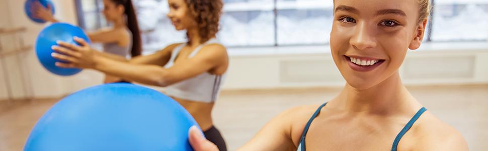 fusion ball yoga