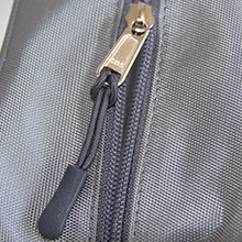 Product shot - Clear Diaper bag pouches with premium zippers and friendly pullers